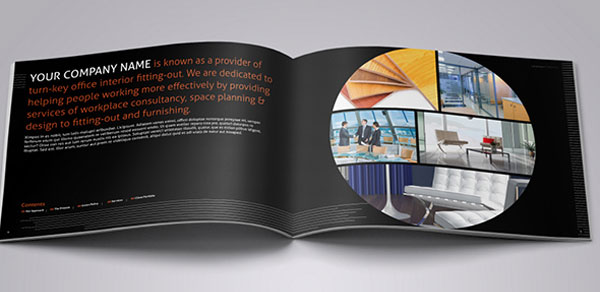 Index of images 25 really beautiful brochure designs for Interior decoration brochure design
